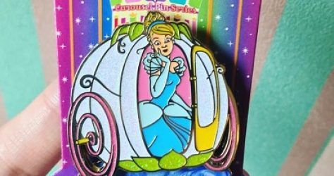 Cinderella Limited Edition Carousel Pin