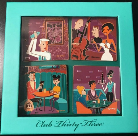 Club 33 Disney Pin Box Set By Shag