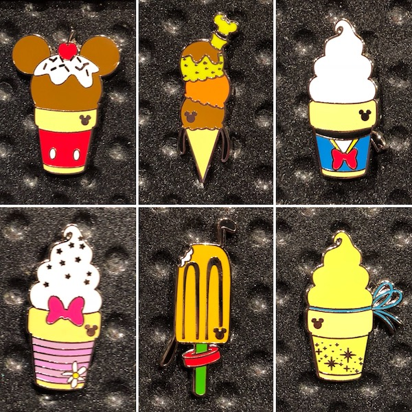 Disney Hidden Mickey Pins 2018 Wave B Shared