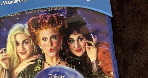Disney Hocus Pocus 25th Anniversary Blu-Ray