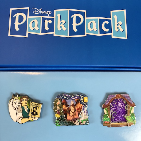Disney Park Pack Pin Edition 3.0 – August 2018