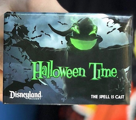 Disneyland Halloween Annual Passholder Button