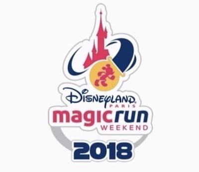 Disneyland Paris Magic Run 2018 Pin