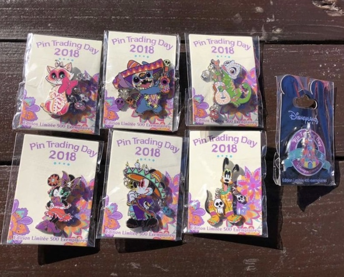 Disneyland Paris September 2018 Pin Trading Day Releases