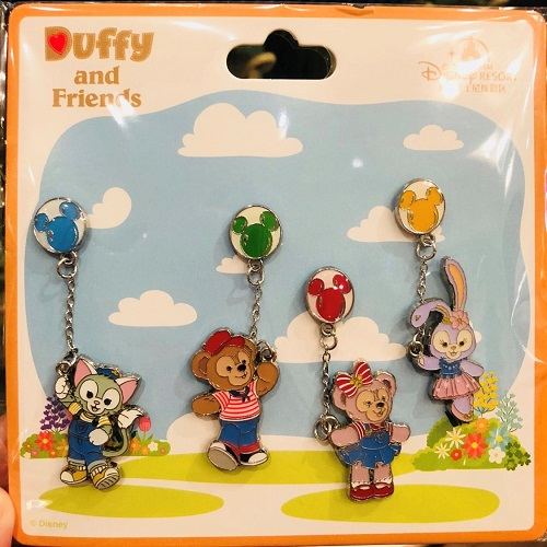 Duffy and Friends Balloon Pin Set - Shanghai Disneyland 2018