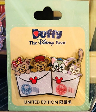 Duffy and Friends Envelope Pin - Shanghai Disneyland 2018