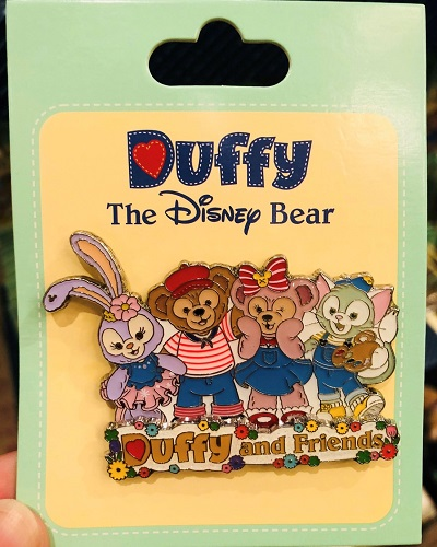 Duffy and Friends Pin - Shanghai Disneyland 2018