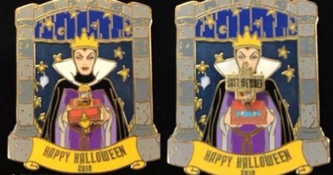 Evil Queen Halloween Cast Member Disney Pin