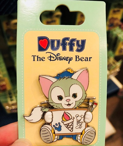 Gelatoni Painter Pin - Shanghai Disneyland 2018