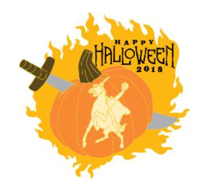 Headless Horseman Halloween 2018 DCA AP Pin