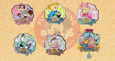 Hong Kong Disneyland 13th Anniversary Pins - Part 2
