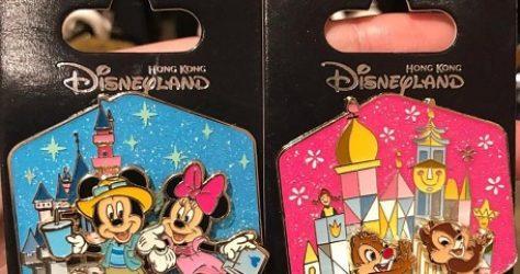 Hong Kong Disneyland OE Pin Releases