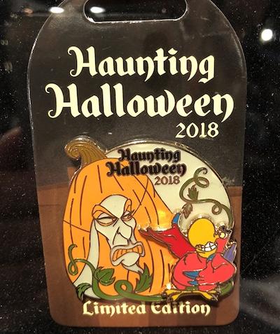 Jafar Haunting Halloween 2018 Pin
