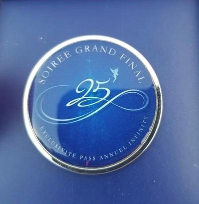 Le Grand Final 25th Anniversary Pin