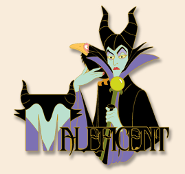 Maleficent Character Series #1 Pin