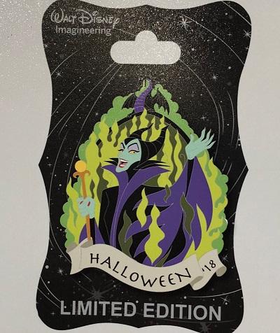 Maleficent Halloween 2018 WDI Pin