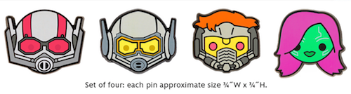 Marvel Emoji Pin Set #1 - Disney Movie Rewards