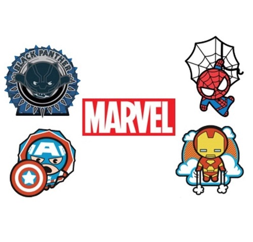 Marvel Pin Set - MEGACON Tampa Bay 2018