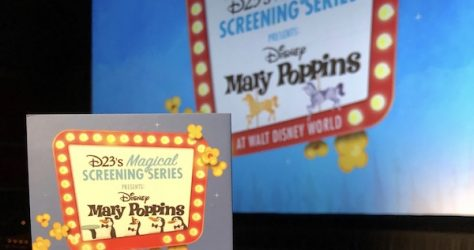 Mary Poppins Magical Screenings Disney D23 Pin
