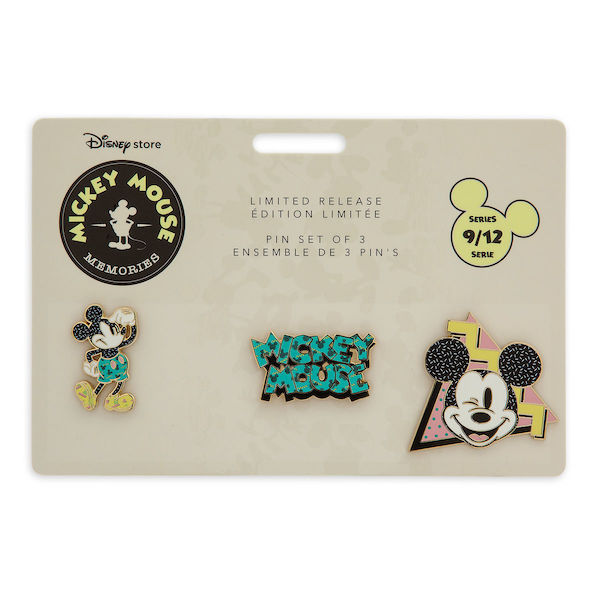 Mickey Mouse Memories Pin Set #9