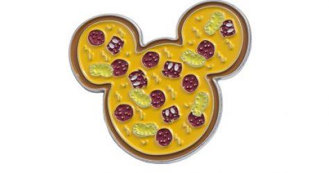 Mickey Pizza Cakeworthy Pin