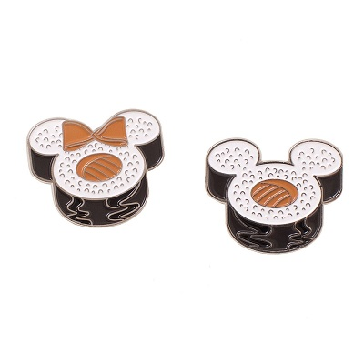 Mickey and Minnie Sushi Cakeworthy Pins