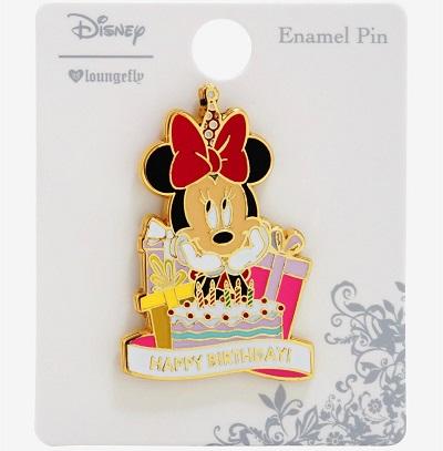 Minnie Happy Birthday Boxlunch Disney Pin