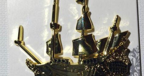 Jolly Roger Ship Boxlunch Disney Pin