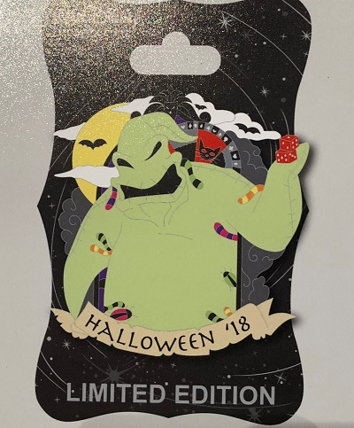 Oogie Boogie Halloween 2018 WDI Pin
