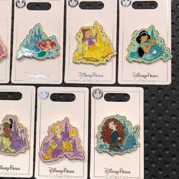 Open Edition Disney Princess Pins 2018 Continued