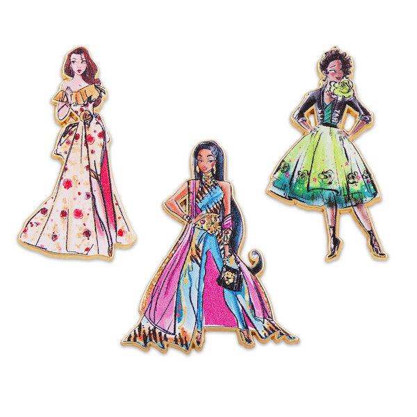 Pin Set Two - Disney Princess Designer Premeire Collection Pin Set