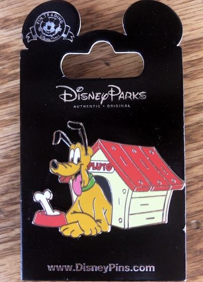 Pluto Doghouse Pin