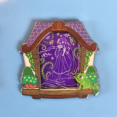 Rapunzel Stained Glass Park Pack Pin