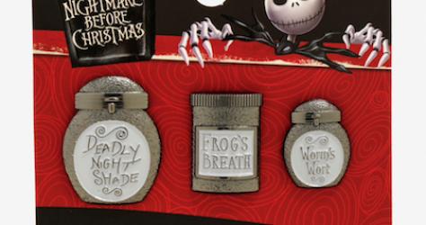 Sally's Jars BoxLunch Disney Pin Set