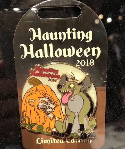 Scar Haunting Halloween 2018 Pin