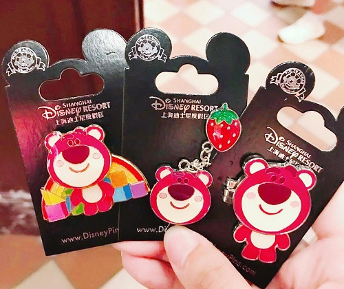 Shanghai Disneyland Lotso Huggin Pins