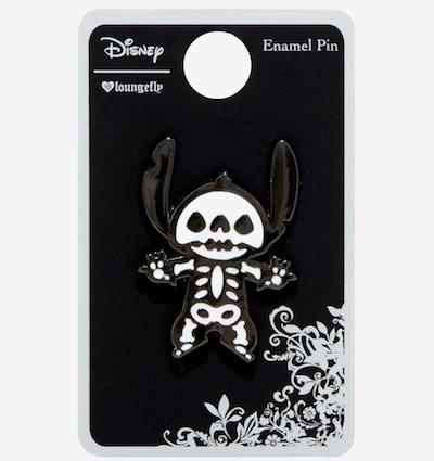 Stitch Skeleton Enamel Pin