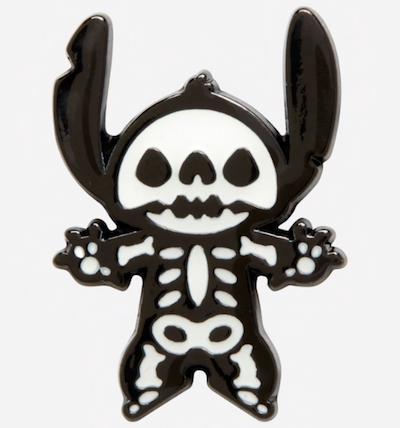 Stitch Skeleton Hot Topic Pin