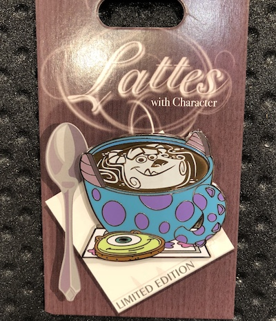 Sulley Lattes with Character Pin