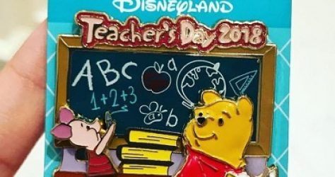 Teachers Day 2018 Hong Kong Disneyland Pin