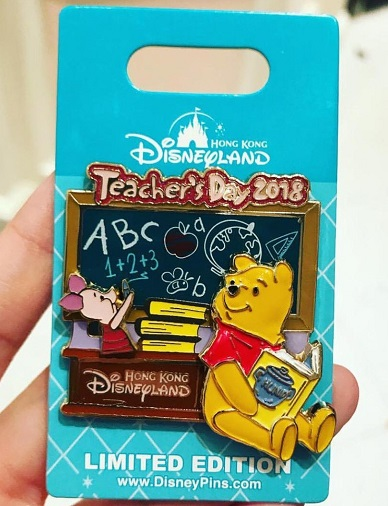 Teachers Day 2018 Hong Kong Disneyland Pin