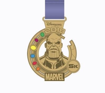 Thanos 5k 2018 Pin
