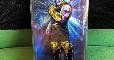 Thanos X1 Pin by FiGPiN