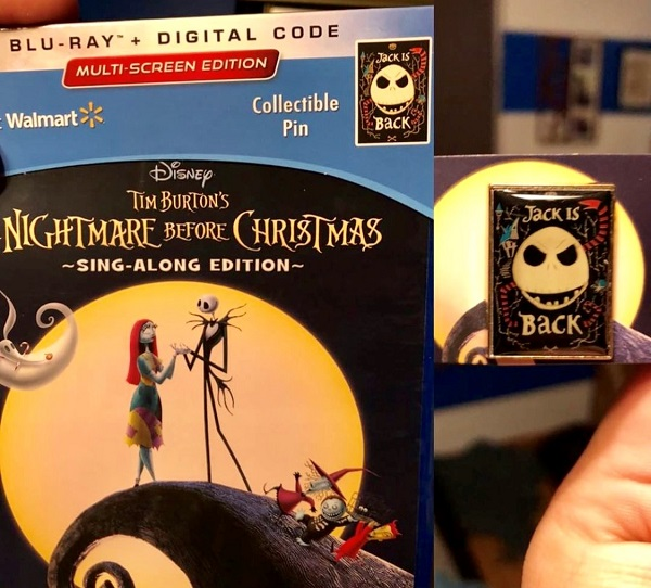 the nightmare before christmas 25th anniversary blu ray