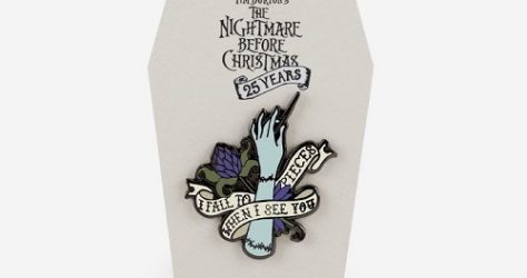 The Nightmare Before Christmas Harveys Pin