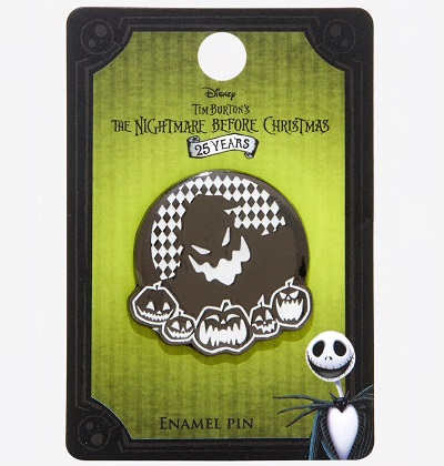 The Nightmare Before Christmas Hot Topic Pin - Oogie Boogie