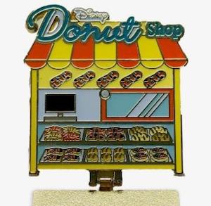 Tigger Donut Shop Pin - Inside