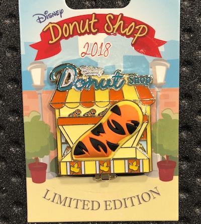 Tigger Donut Shop Pin
