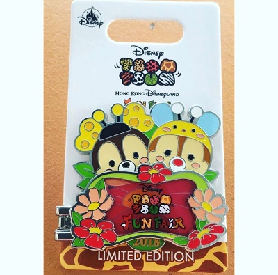 Tsum Tsum Fun Fair 2018 Logo Pin