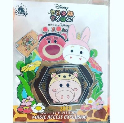 Tsum Tsum Fun Fair 2018 Magic Access Pin